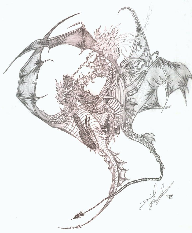 Dragon dessin - Dessins dragon ...