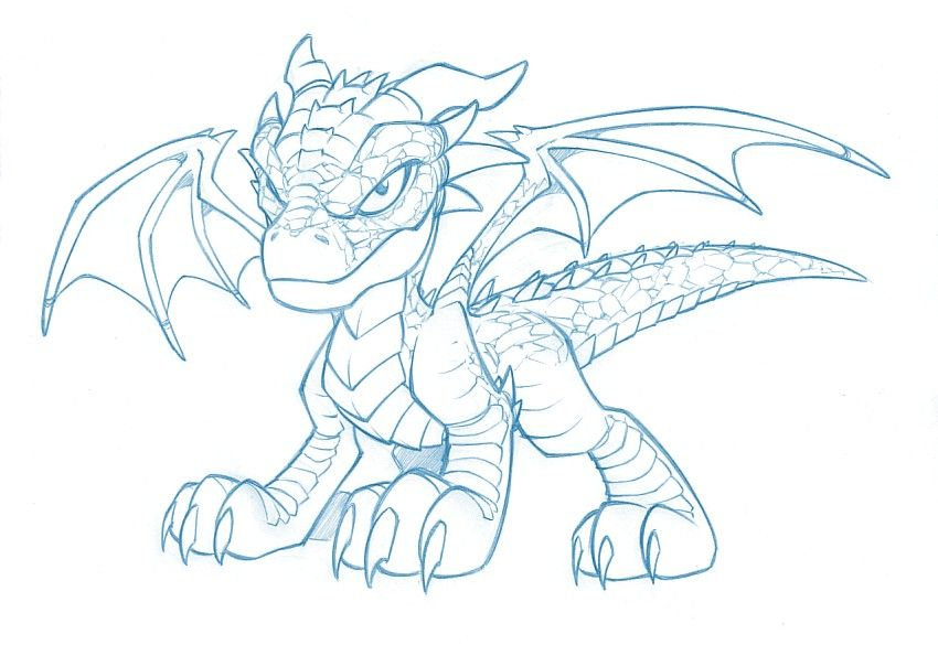 Dragon mignon - Dessin un dragon ...